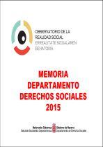 Memoria Departamento Derechos Sociales 2015