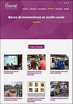 Banco de innovaciones en acción social