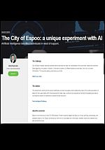 The City of Espoo: a unique experiment with AI. Artificial Intelligence identified individuals in need of support