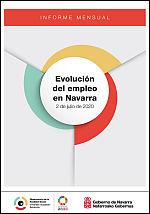 Evolución del empleo en Navarra. Informe mensual 2 de julio de 2020