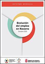 Evolución del empleo en Navarra. Informe mensual octubre 2020