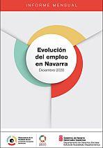 Evolución del empleo en Navarra. Diciembre 2020