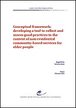 Conceptual framework: Developing a tool to collect and assess good practices in the context of non-residential community-based services for older people