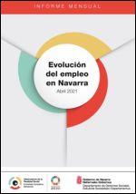 Evolución del empleo en Navarra. Abril 2021