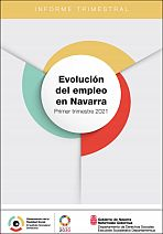 Evolución del empleo en Navarra. Primer trimestre 2021