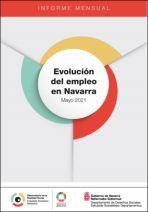 Evolución del empleo en Navarra. Mayo 2021