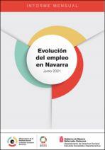 Evolución del empleo en Navarra. Junio 2021