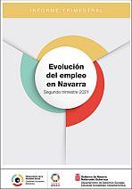 Evolución del empleo en Navarra. Segundo trimestre 2021