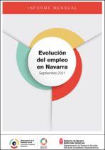 Evolución del empleo en Navarra. Septiembre 2021
