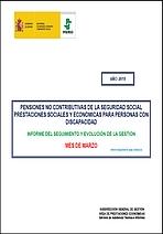 La gestión de las pensiones no contributivas de la Seguridad Social