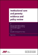 Institutional care and poverty: evidence and policy review