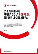 638.770 niños fuera de la pobreza en una legislatura