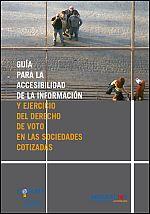 Guía para garantizar la accesibilidad en las juntas de accionistas de las sociedades cotizadas