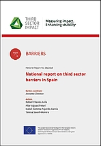 National report on third sector barriers in Spain