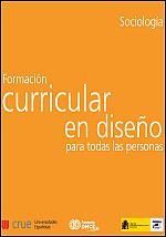 Formación curricular en diseño para todas las personas en Sociología