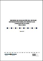 Informe de evaluación del III Plan Interinstitucional de Apoyo a las Familias en la CAPV 2011-2015