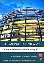 Analysis and debate in social policy, 2017