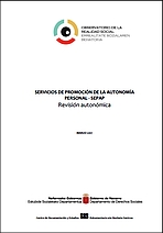 Revisión autonómica de los servicios de Promoción de la Autonomía Personal