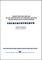 Características básicas de las prestaciones de ingresos mínimos en los países de la Unión Europea