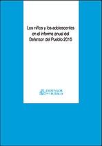 Los niños y los adolescentes en el informe anual del Defensor del Pueblo 2016