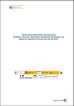 Evolución del empleo con apoyo en España