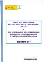 El perfil del beneficiario de prestaciones sociales y económicas para personas con discapacidad y del pensionista no contributivo
