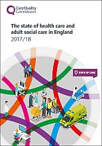 The state of health care and adult social care in England 2017/18
