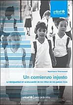 Un comienzo injusto. La desigualdad en la educación de los niños en los países ricos