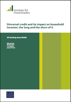 Universal credit and its impact on household incomes: the long and the short of it