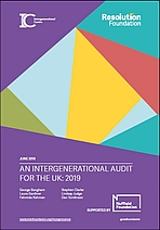 An intergenerational audit for the UK: 2019
