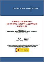 Pobreza laboral en la Comunidad Autónoma de Euskadi (1986-2018)