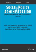 International perspectives on the theories and practices of welfare conditionality