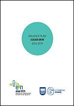 Balance Plan Elkar-Ekin 2016-2019 = Elkar-Ekin 2016-2019 Planaren Balantzea