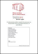 El ordenamiento jurídico español y las personas con discapacidad
