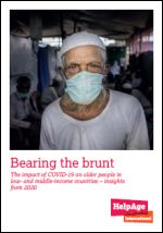 Bearing the brunt. The impact of COVID-19 on older people in low- and middle-income countries. Insights from 2020